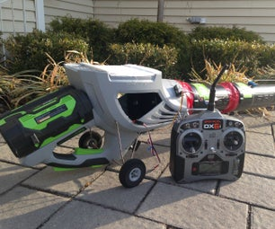 Remote Control Robot Jet Car - Leaf Blower