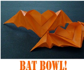 How to make an Origami Bat Bowl!