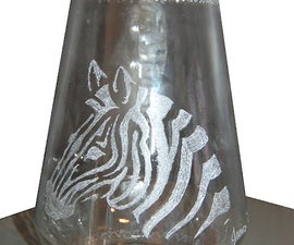 Easy way to Engrave on Glass