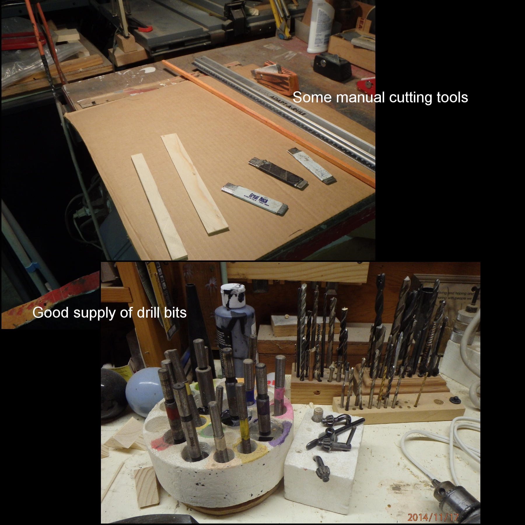 Picture of Tools, Materials, Techniques, Etc.