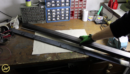 Making the Steel Base Frame