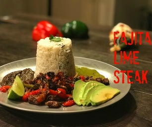 Fajita Lime Steak