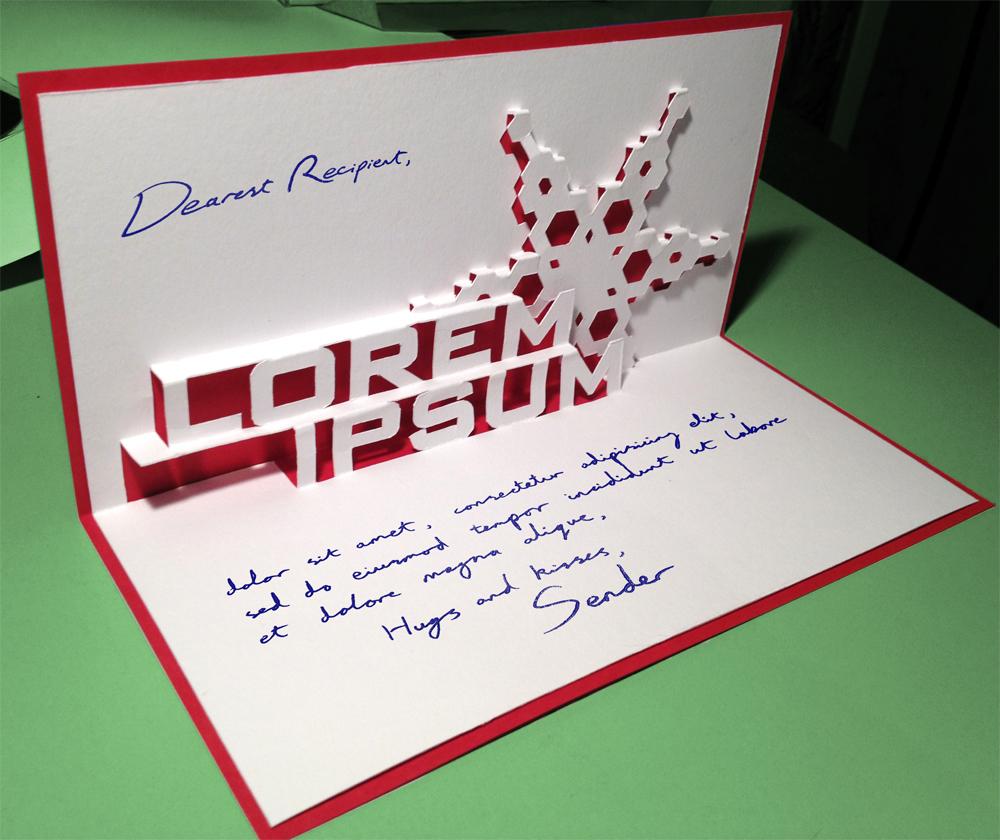 Picture of Lorem Ipsum Christmas Card