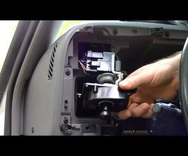 HOW TO REPAIR/REPLACE HEADLIGHT SWITCH IN DETAIL ON DODGE RAM | REMOVE DASHBOARD PANEL AND MULTIFUNCTION PIGTAIL