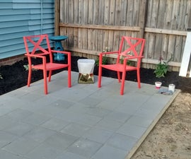 Building a Simple Patio Using Paving Stones