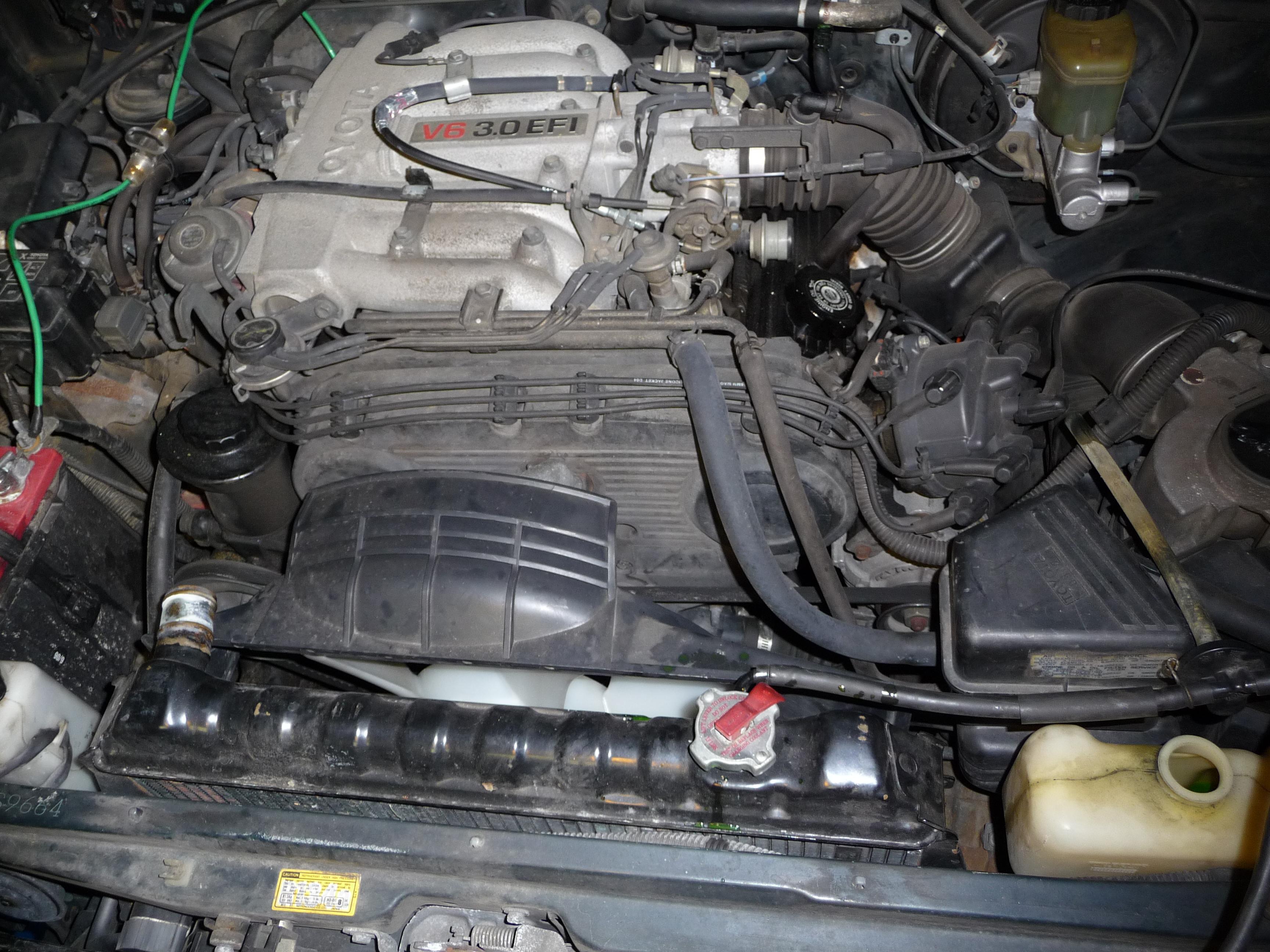 1994 toyota 4runner v6 3vze timing belt replacment 14 steps 1994 Toyota Pickup Hitch Wiring Diagram