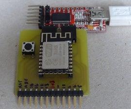 ESP-12E and ESP-12F Programming and Development Board