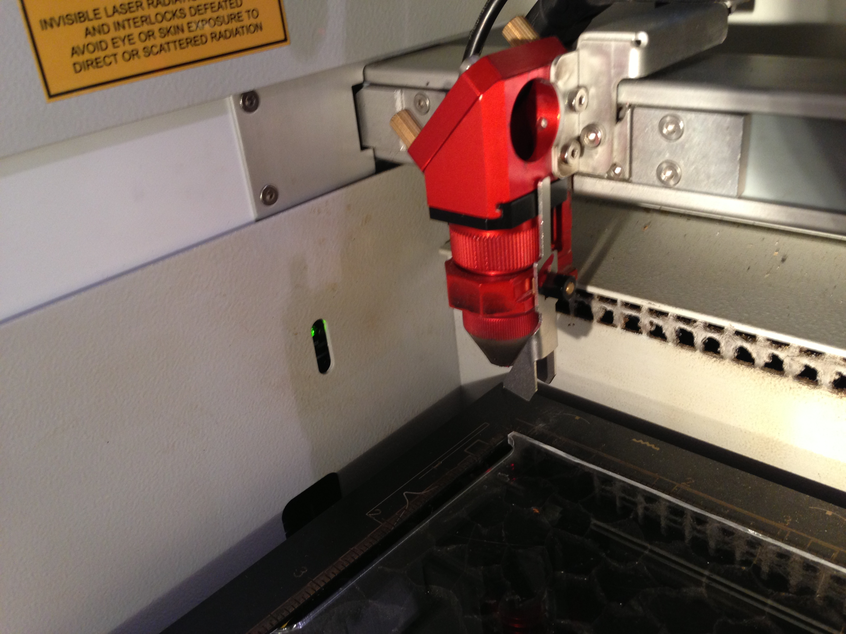 Picture of Adjusting the Laser's Focus (Part 2)