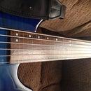Defretting a Bass Guitar
