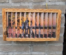 Harmonica Picture Frame (1frame2pics at Other Angles)
