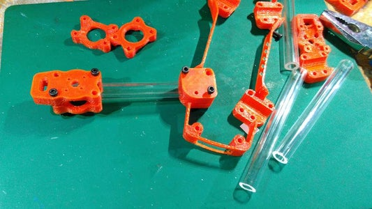 3D Printing & Motor Assembly