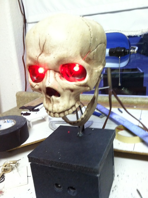Picture of Interactive Arduino Skull