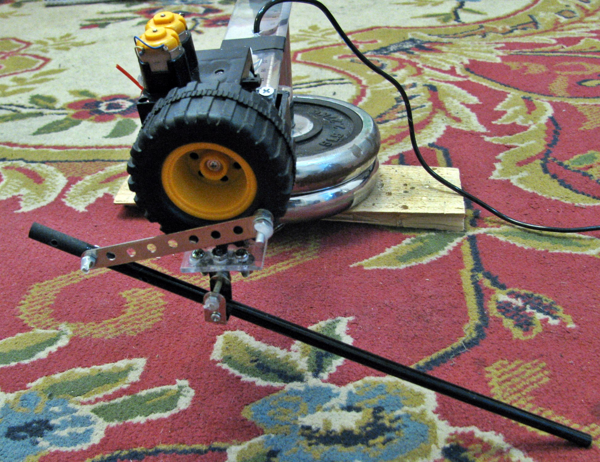 Picture of Hopping Robot Leg