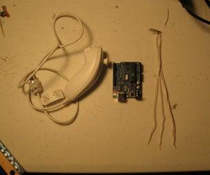 Using WiiChuck Adapter With Arduino