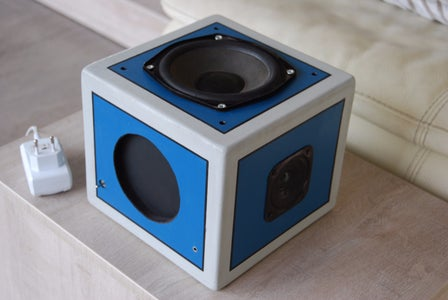 20W Recycled Speaker Cheap and Easy!