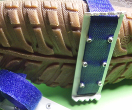 Winterize your shoes - DIY CRAMPONS.