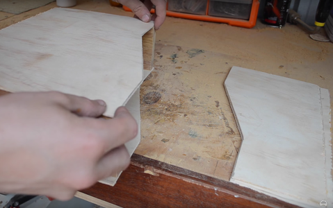 Cutting the Plywood