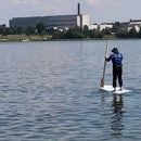 Inexpensive stand up paddle board (SUP)