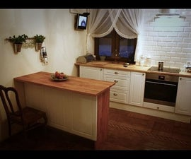 Good Looking Kitchen Island in Half a Day (no Pro Tools Required)
