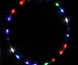 LED Hula Hoop, rechargeable