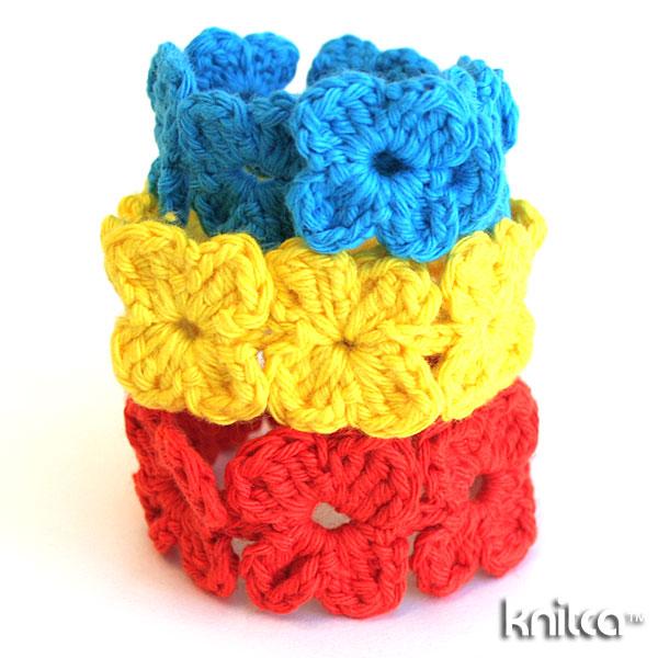 Picture of Crochet Clover Bracelet