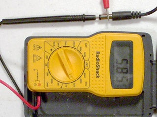 Test the Wall-wart to Verify the Correct Voltage and Polarity