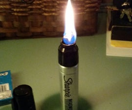 Sharpie Survival Torch