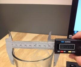 Pint Glass Measurement