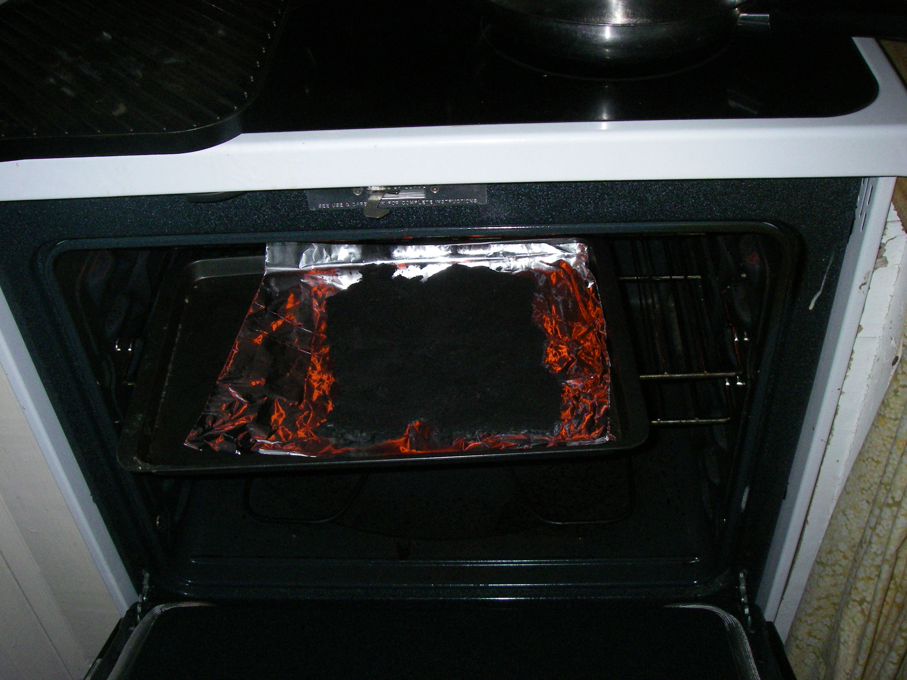 Picture of Dry the Crushed Charcoal