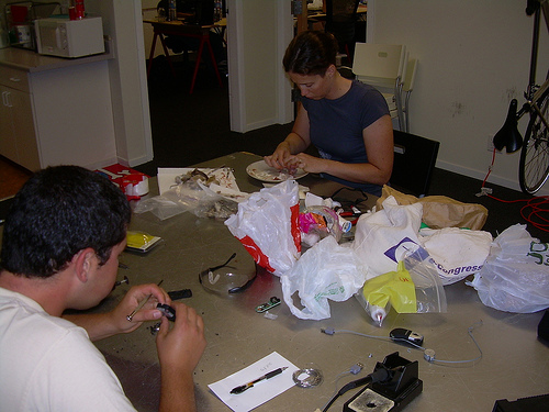 Picture of Working on Mice At Instructables HQ