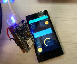 Home Automation Using Esp826612E,NodeMcu and Blynk App
