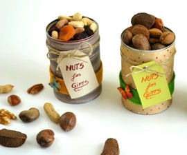 How to Recycle Beans Cans and Make NUTS GIFTS - DIY Recycled Crafts
