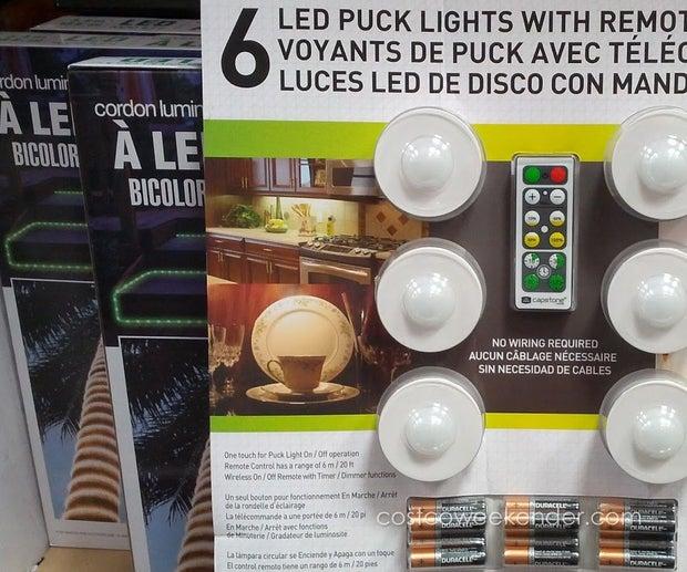[DIAGRAM_5FD]  Puck Light Conversion, No More Eating Batteries : 3 Steps - Instructables | Capstone Motion Sensor Light Wiring Diagram |  | Instructables