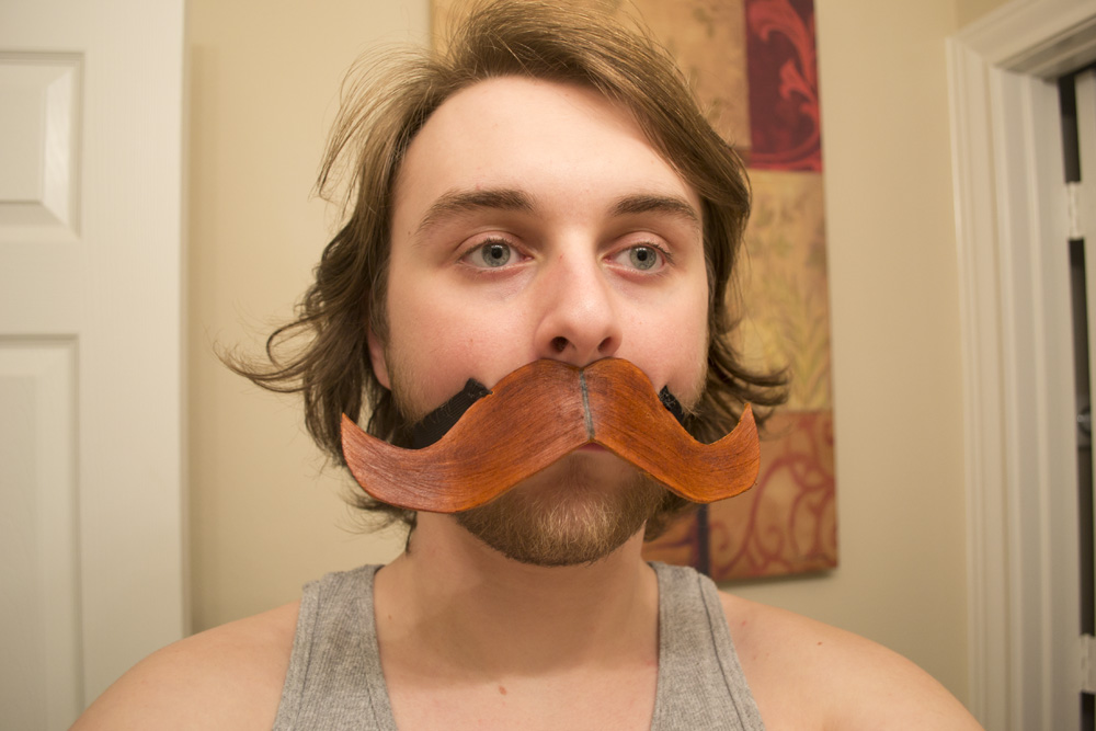 Picture of The Leather Stache
