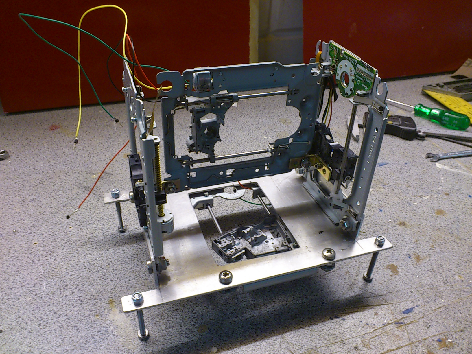 Picture of Pictures From Building the Chassis