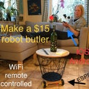 Build a $15 Remote Controlled ESP8266 Robot Butler / Car / Tank for Ios and Android