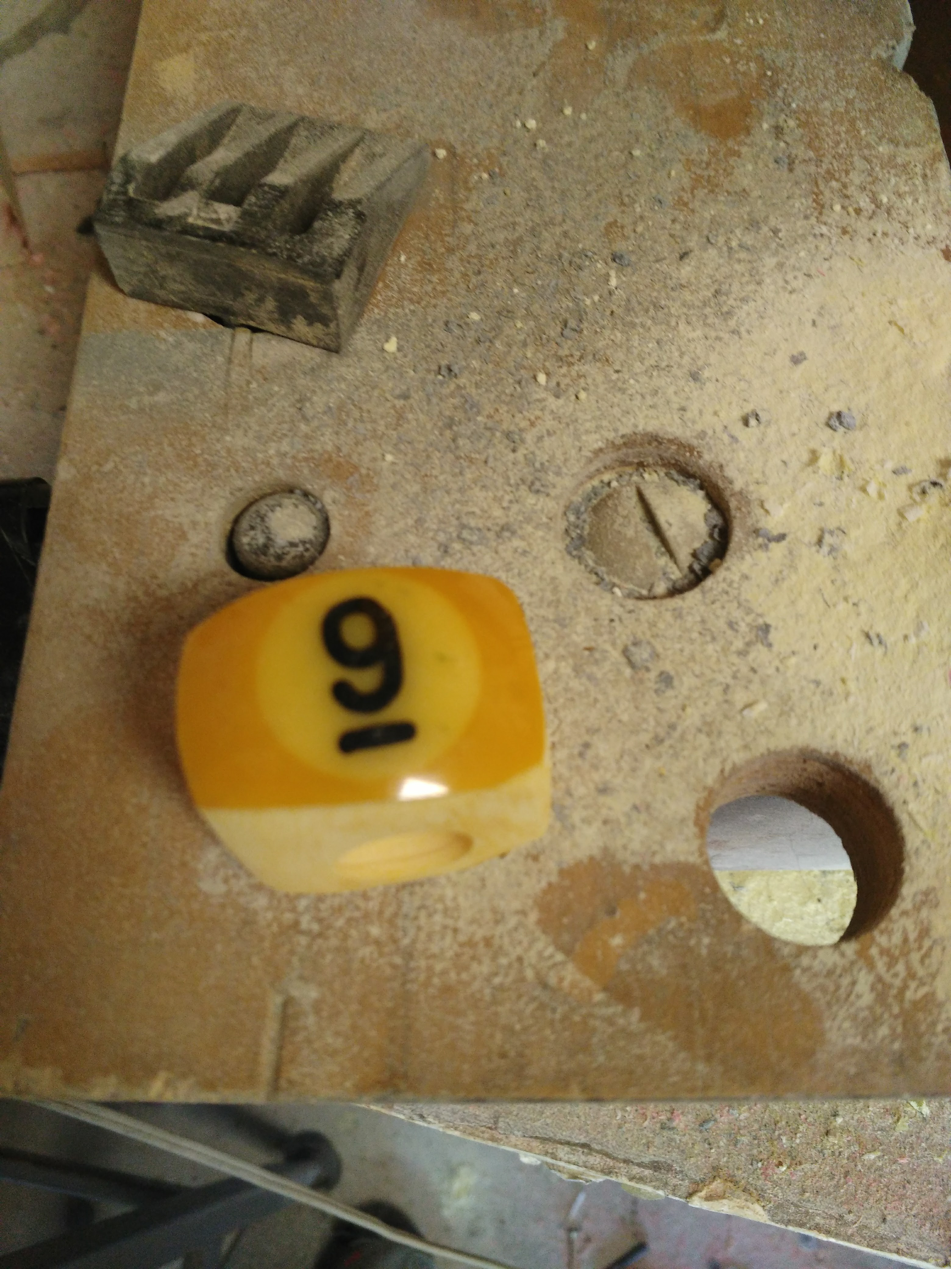 Picture of Drill and Shape the Ring.