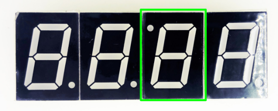 Picture of Solder LED Display