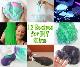 12 Recipes for Homemade Slime