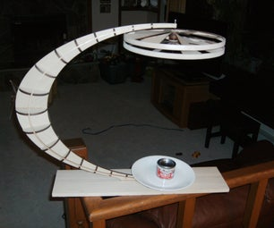 Convection Powered, Counter Rotating, Kinetic Sculpture