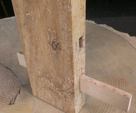 Wooden Deadbolt Lock