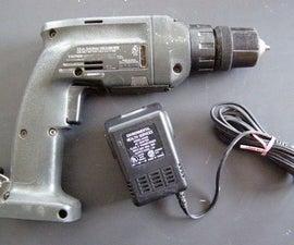 Convert a Battery Drill to Wall Power