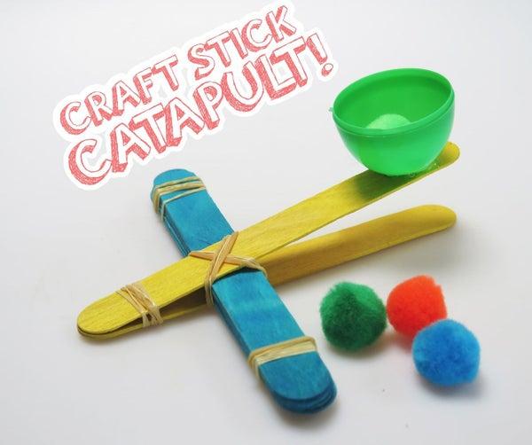 Craft Stick Catapult!
