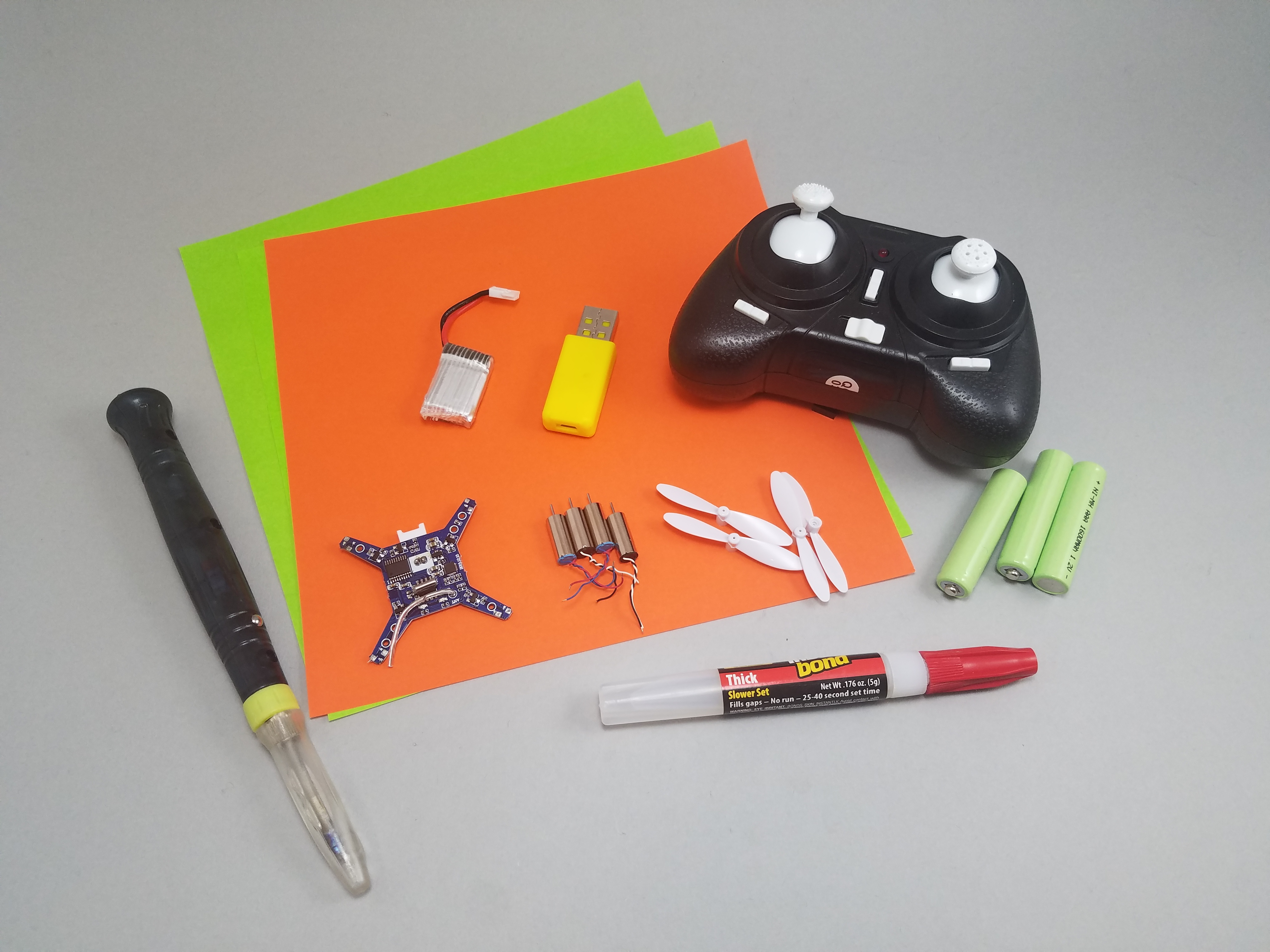 Picture of Gather Parts and Tools