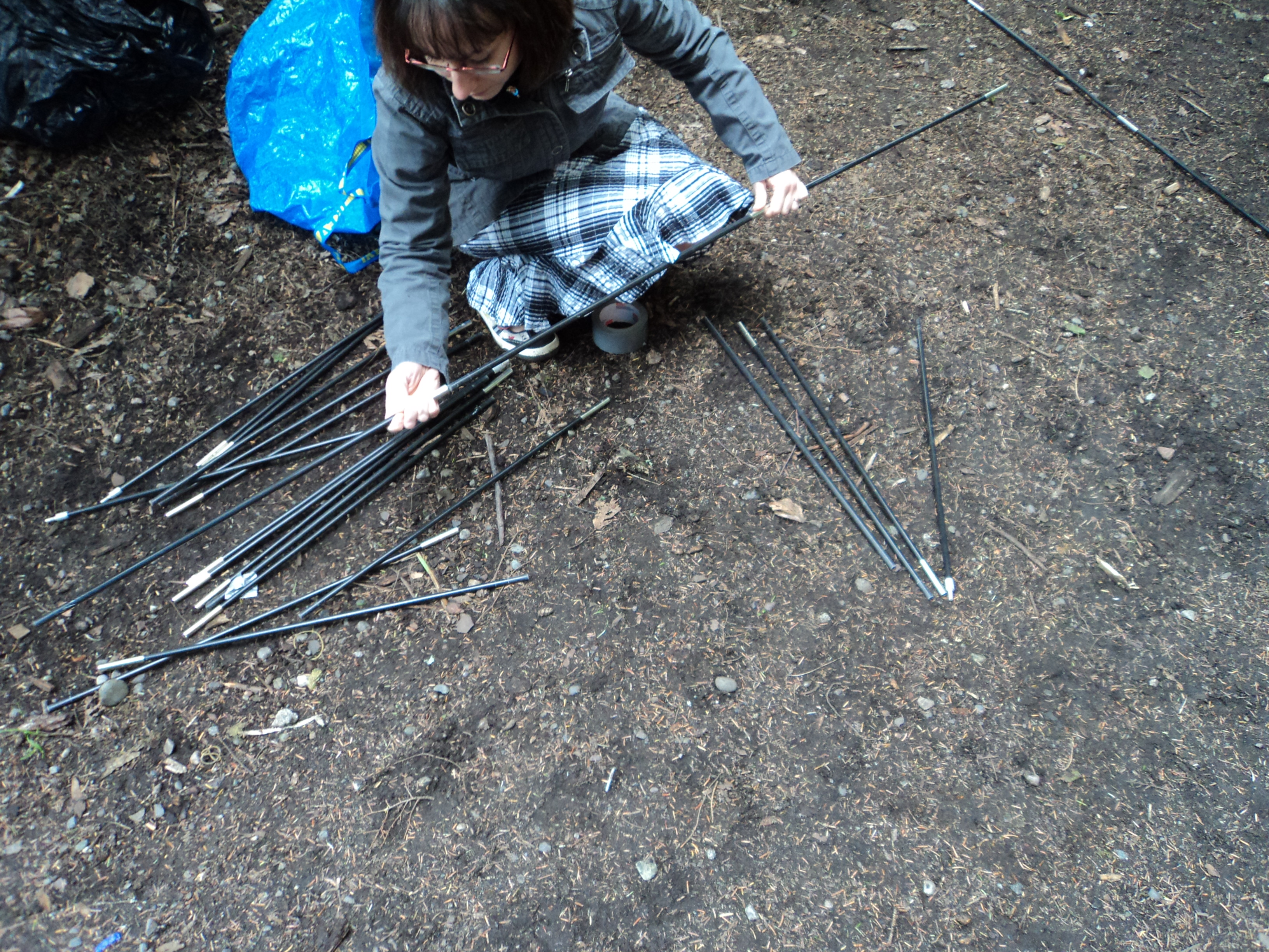 Picture of Duct Tape Tent Pole Repair