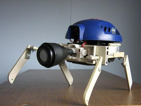 (PURPLE) Robo-Beetle!