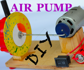 DIY Portable Air Pump