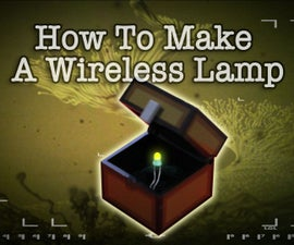 How to Make a Wireless Minecraft Lamp