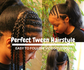 How To Do the Perfect Hairstyle for Tween Girls