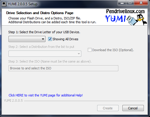Picture of Setting Up the Software for .ISO Download